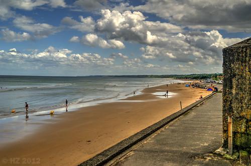 Omaha beach, Dog Green sector, Vierville-sur-mer, Normandy