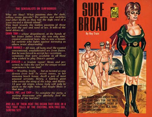 Satan Press 117 - Ray Train - Surf Broad (with back)