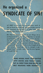 Beacon Books BB 142 - Orrie Hitt - The Promoter (back)