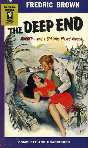 Bantam Books 1215 - Fredric Brown - The Deep End