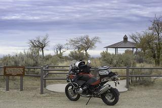 Parked at Bonneville Point