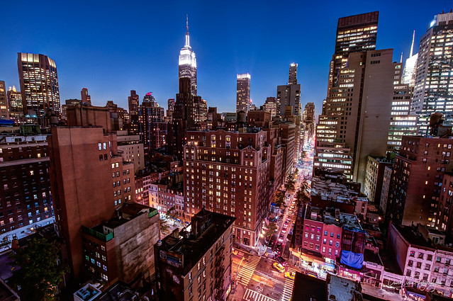 Midtown Manhattan, Blue Hour