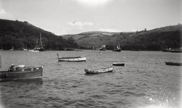 Sea view - Fowey 1946