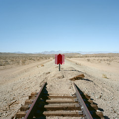 end of the line. mojave desert, ca. 2012.
