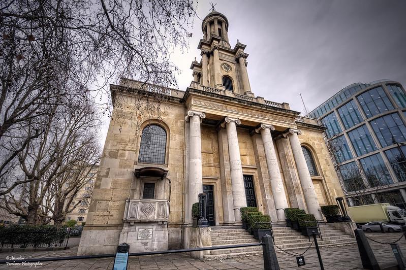 Holy Trinity Church Marylebone (I). London