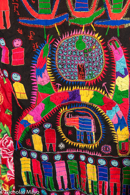 Multicoloured Yao Priest's Robe