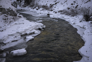 Icy banks of the Payette