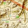 Extrait du Plan Terrier pour le secteur des bergeries de Mela, Lora et Sainte-Lucie du Haut-Cavu
