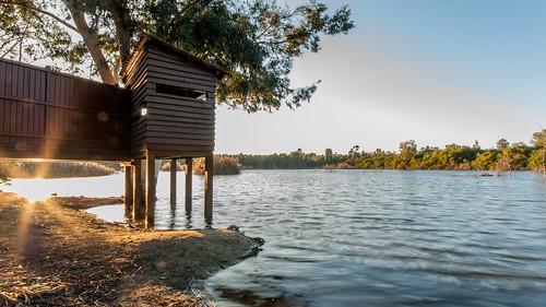 sunset sky sun lake water landscapes nikon ngc cyprus hdr d80 athalassa birdwatchinghouse athalassalake