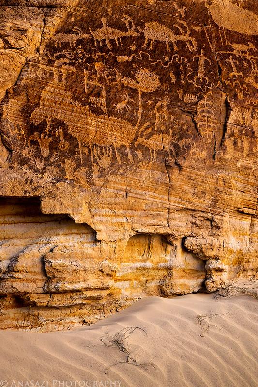 Sand & Petroglyphs
