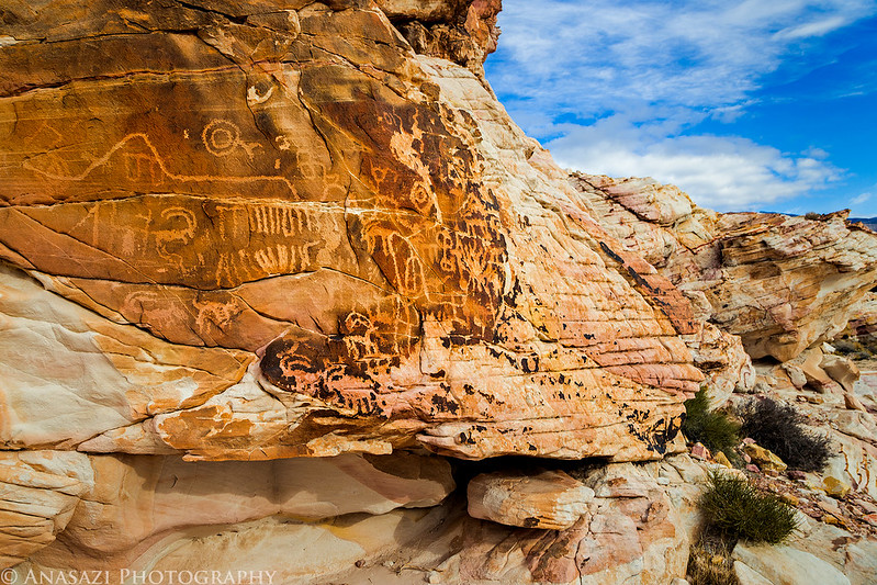 Petroglyphs & Colors