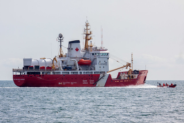 Canadian Coast Guard - CCGS Sir Wilfred Laurier