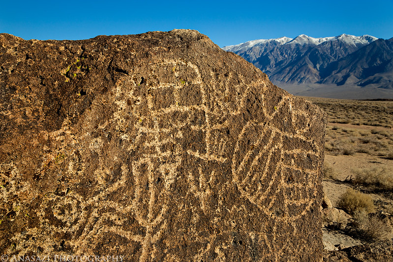 Petroglyphs & Mountains