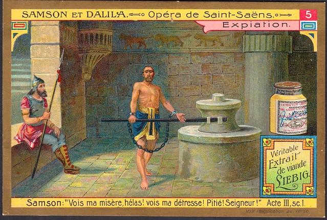 Liebig S858 Samson & Delilah #5
