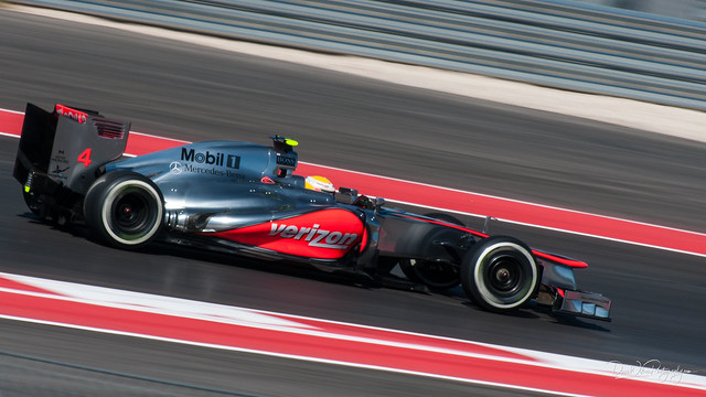 Lewis Hamilton at Circuit of the Americas