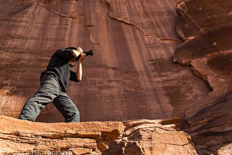Dave & Petroglyphs