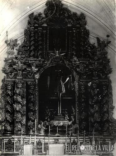 Antiguo retablo Cristo de la Antigua