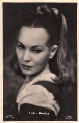 Luisa Ferida in La corona di ferro (1941)