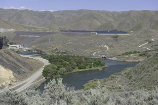 Lucky Peak Reservoir