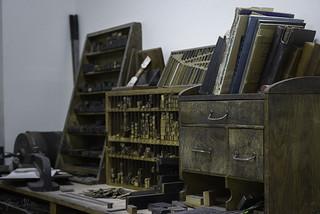 Press desk