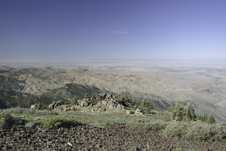 North across the Snake River Plain