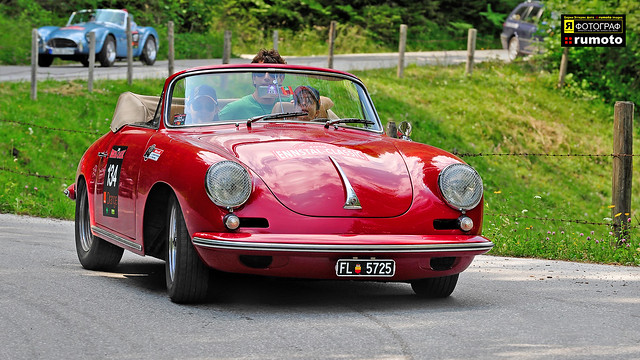 1963 Porsche 356 Carrera 2 Stephanie Feichtinger (FL) Ennstal-Classic (c) 2010 Берни Эггерян :: rumoto images 3065