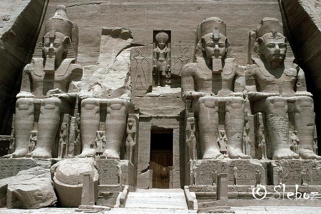 407 - Grand temple d'Abou Simbel (environ 1280 av JC)