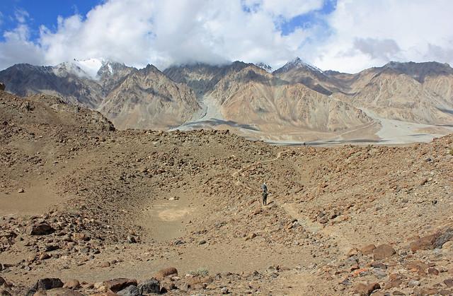 68. View, River Junction Camp To Sughet Jangal, Xinjiang