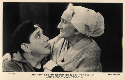 Jan van Ees and Esther de Boer-van Rijk in Op hoop van Zegen (1934)