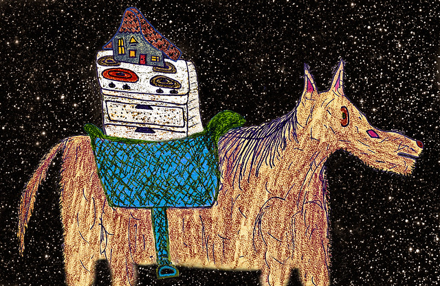 Home On The Range, On The Horse