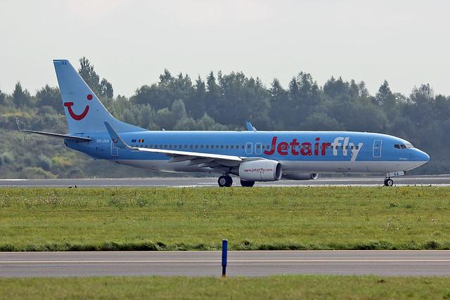OO-JAA Boeing 737-88K TUI Belgium BRU 21-09-13
