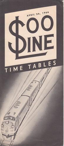Soo Line 1966 Cover