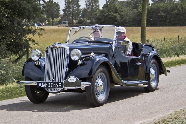 Singer Nine Roadster 4A 1949 (8075)