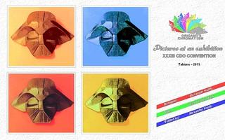 Origami Chromatism - Alexander Kurth - Darth Vader Mask