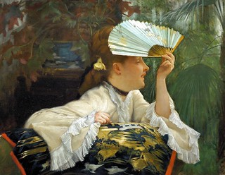 tissot, james jacques - The Fan | by Amber Tree