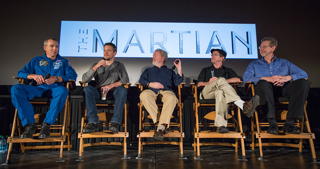 """NASA Journey to Mars and """"The Martian"""