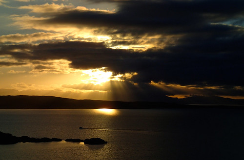 Sunset from Diabaig, Torridon | by Masa Sakano
