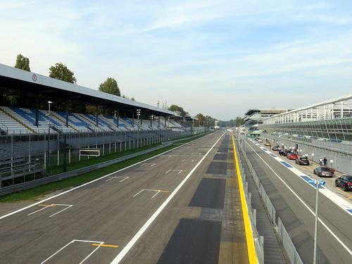 Monza starting grid | by littlemisspurps