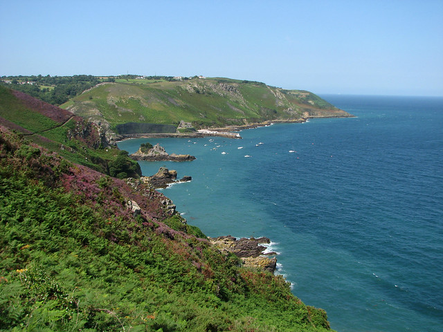 View back to Bouley Bay