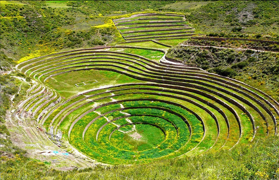 Planos De Andenes Los Andenes Son Terrazas Artificiales Co
