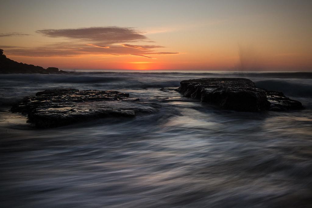 Morning flow || Bunyan Beach   {Explore 91, 2015/12/01}