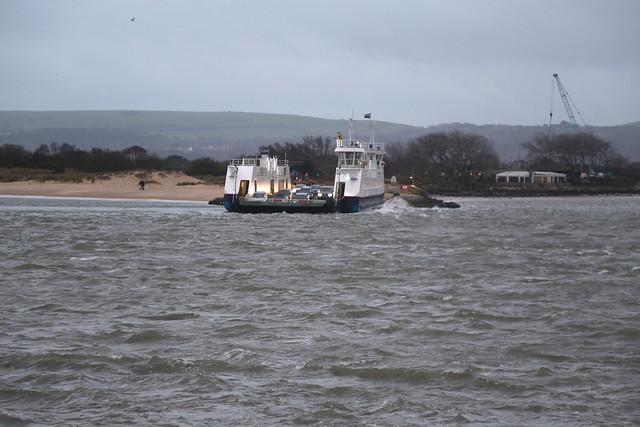 The Sandbanks Ferry