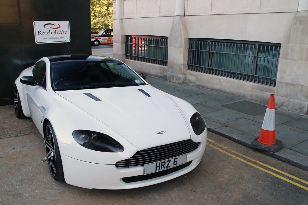 Widebody Aston Martin V8 Vantage Instagram R Simmerman Flickr