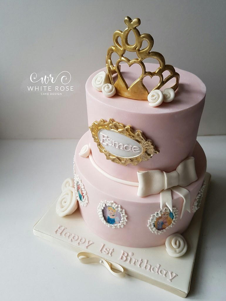 Princess Birthday Cake By White Rose Design West Yorkshire
