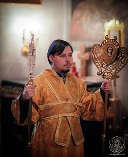 Литургия в Покровском соборе 136