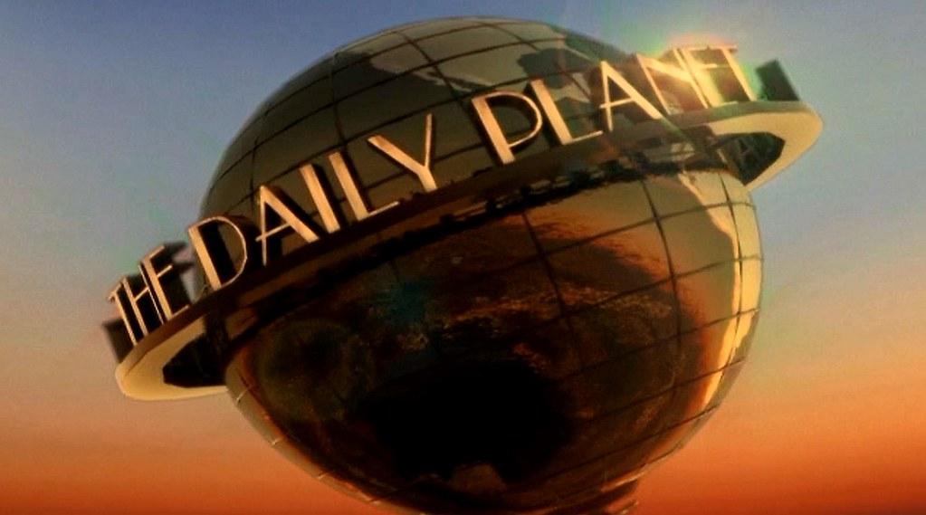 Superman Smallville METALLO 10 2 2009 Daily Planet globe | Flickr