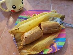 Tamales y Pikachu