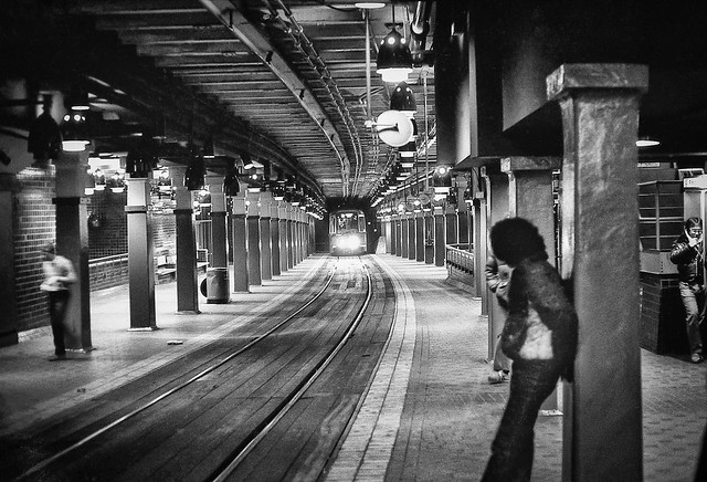 Last Train Out of Park Street Station 1981