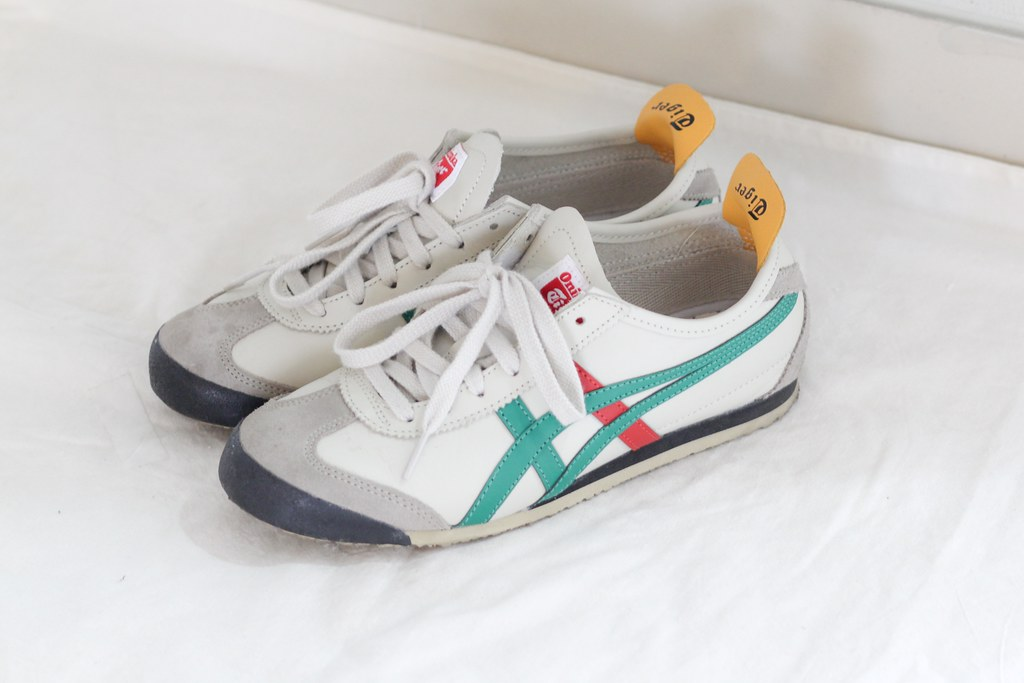 sports shoes dd1e9 b0d0f Onitsuka Tiger Mexico 66 green-red | shoesfetishperson ...