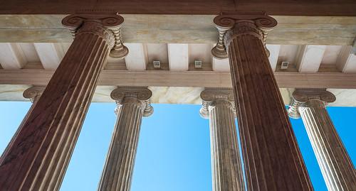 Ionic columns | by AdalsteinnSvanHjelm